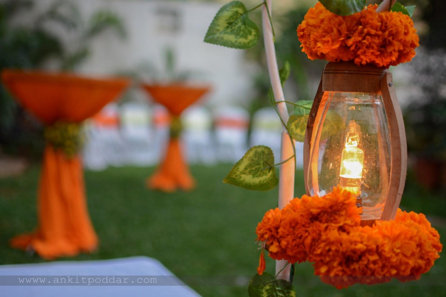 Marigold Lantern by Ankit Poddar Wedding-photography | Weddings Photos & Ideas