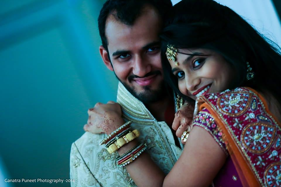 Bride and Groom Portrait by Puneet Ganatra Wedding-photography | Weddings Photos & Ideas
