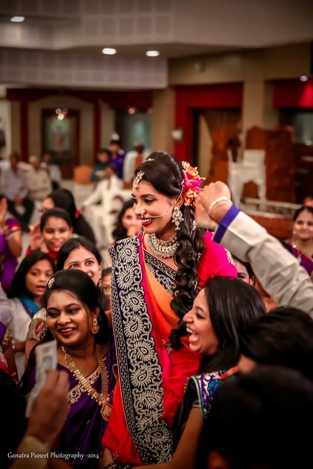 Cheerful Bride On Wedding Reception! by Puneet Ganatra Wedding-photography | Weddings Photos & Ideas