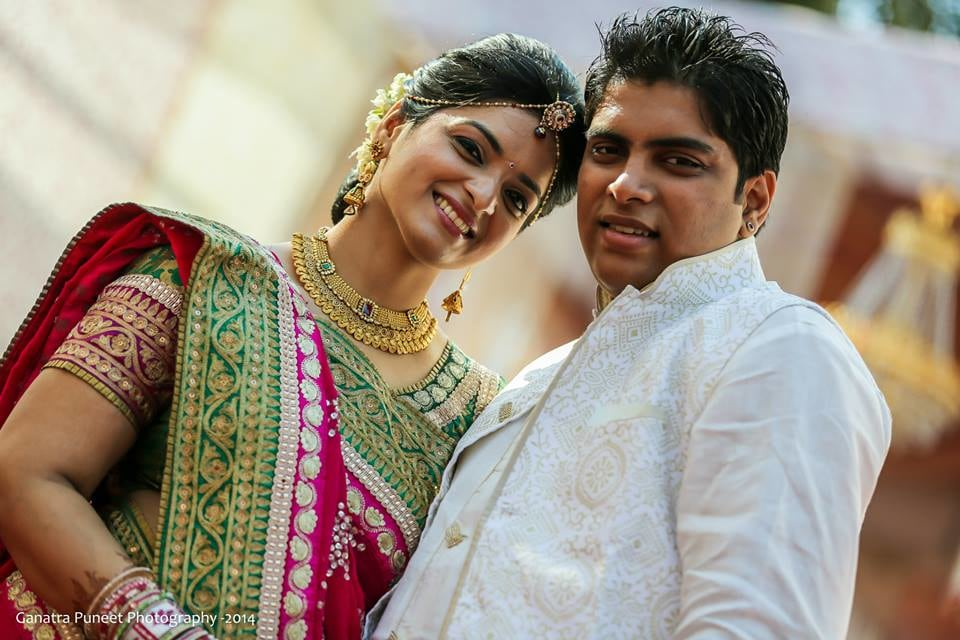 Portrait Of A Splendid Couple by Puneet Ganatra Wedding-photography Bridal-jewellery-and-accessories | Weddings Photos & Ideas
