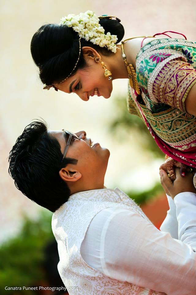 Beaming Bride And Groom! by Puneet Ganatra Wedding-photography | Weddings Photos & Ideas