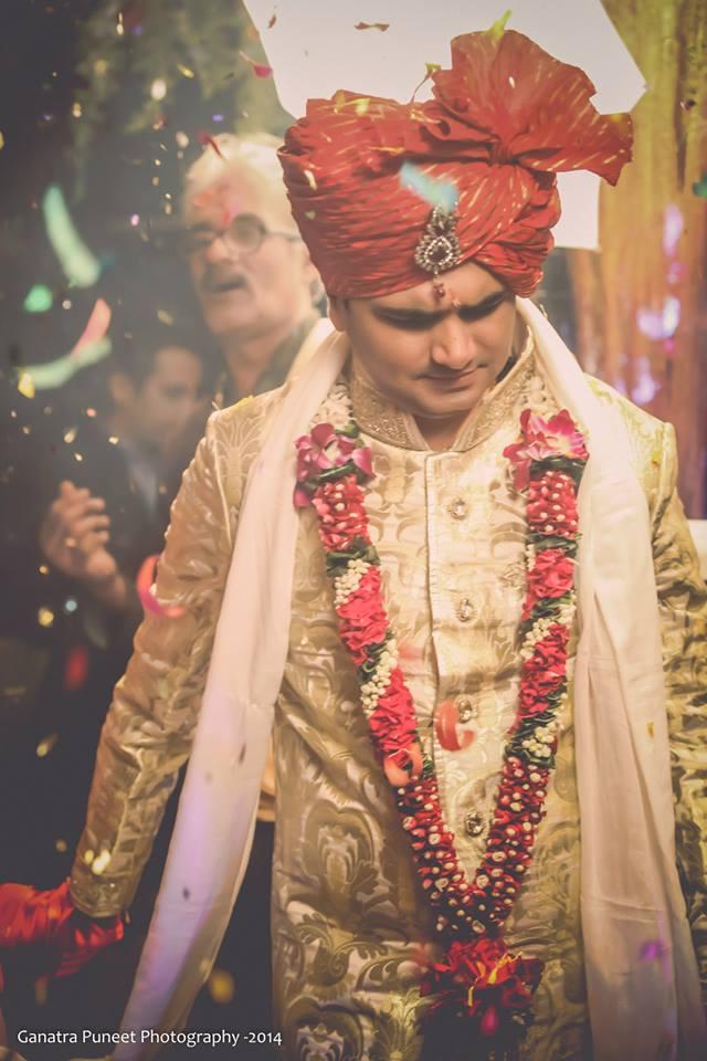 Dashing Groom On Wedding Day! by Puneet Ganatra Wedding-photography Groom-wear-and-accessories | Weddings Photos & Ideas