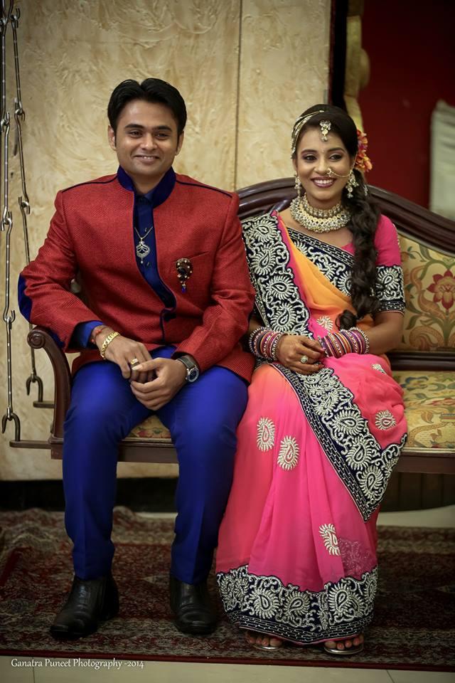 Classic Couple Portrait by Puneet Ganatra Wedding-photography | Weddings Photos & Ideas