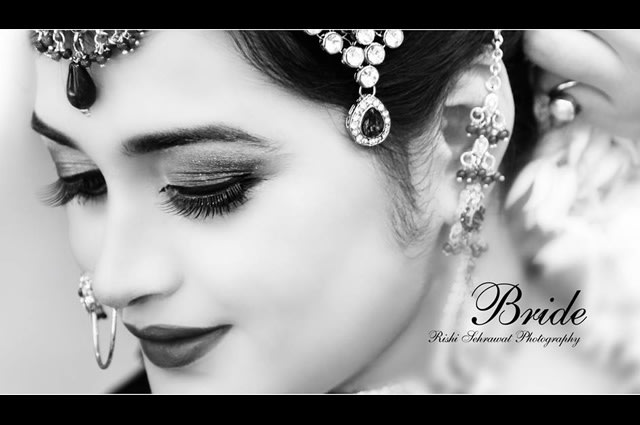 Stunning Bride on Wedding Day! by Rishi Sehrawat Wedding-photography | Weddings Photos & Ideas