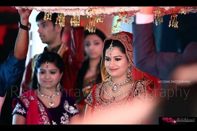 Bride Entering A New Life! by Rishi Sehrawat Wedding-photography | Weddings Photos & Ideas