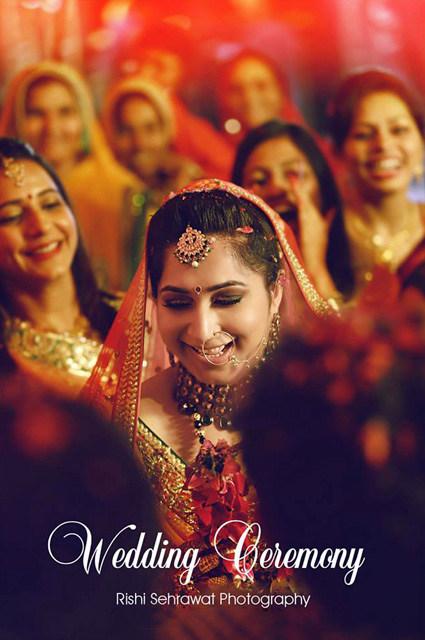 Ravishing Bride On Wedding Day! by Rishi Sehrawat Wedding-photography | Weddings Photos & Ideas