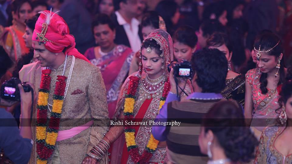 Candid Shot Of The Couple by Rishi Sehrawat Wedding-photography | Weddings Photos & Ideas