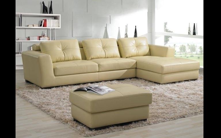 Living Room With Sectional Sofa And Soft Fibre Rug by Swagita Living-room Contemporary | Interior Design Photos & Ideas