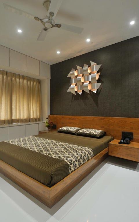 Elegant bedroom decor by ARCHITECT KAUSHAL CHOUHAN Bedroom | Interior Design Photos & Ideas