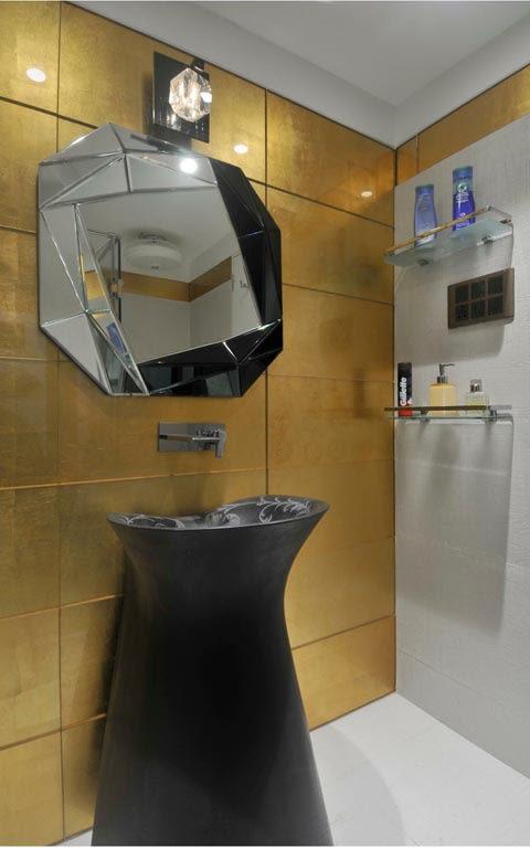 Eclectic bathroom decor ideas by ARCHITECT KAUSHAL CHOUHAN Bathroom | Interior Design Photos & Ideas