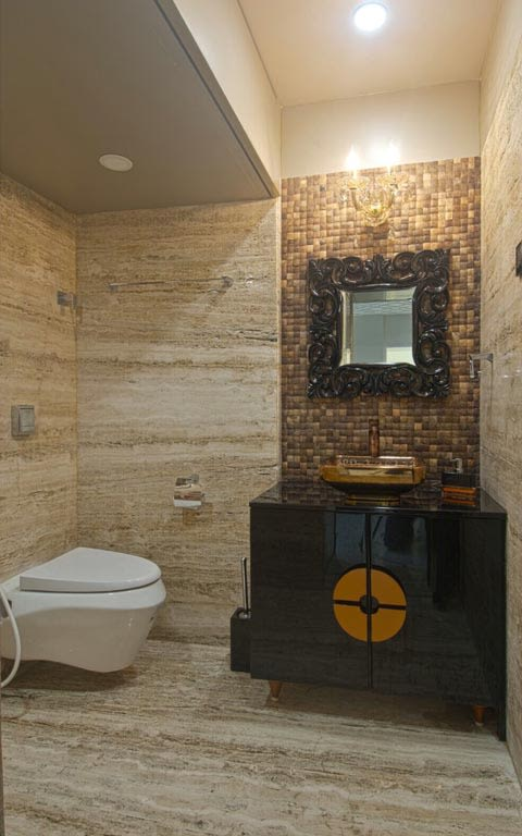 Eclectic bathroom decor ideas by ARCHITECT KAUSHAL CHOUHAN Bathroom | Interior Design Photos & Ideas