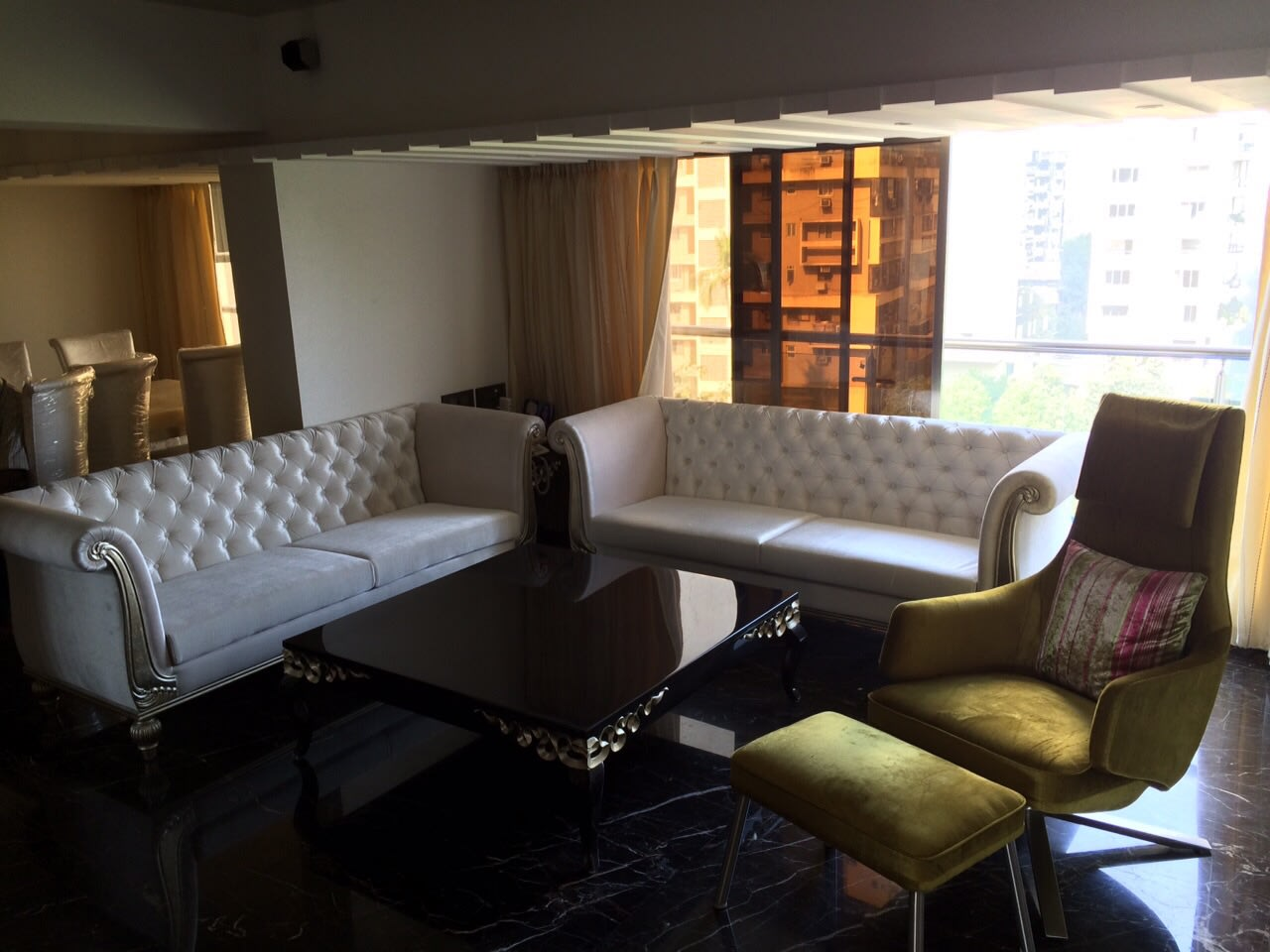 Plush living room decor ideas by ARCHITECT KAUSHAL CHOUHAN Living-room | Interior Design Photos & Ideas