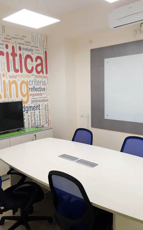 Modern conference room decor by ANTARANGNI INTERIOR P LTD | Interior Design Photos & Ideas