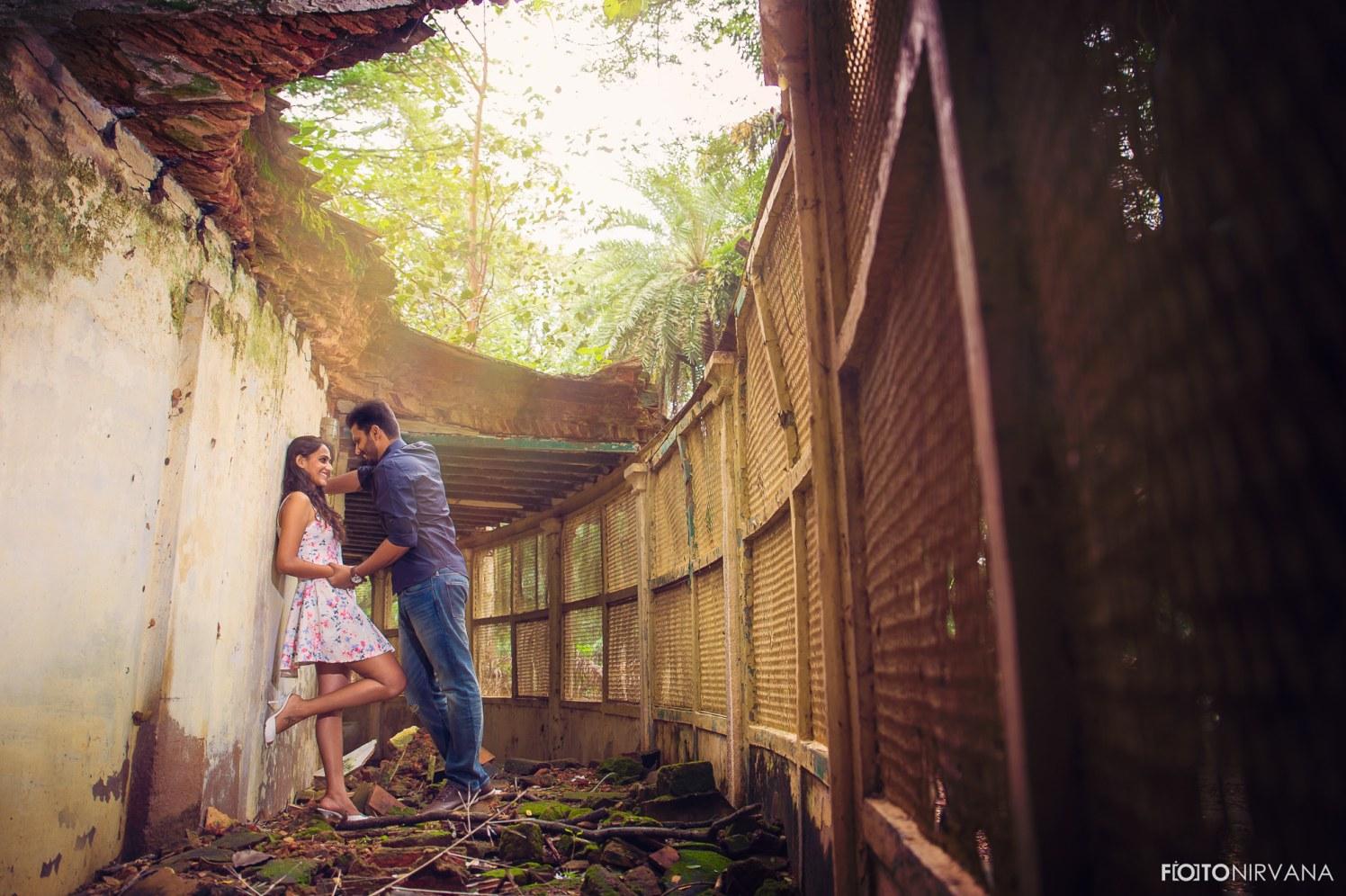Stunning Backdrop For A Pre Wedding Shoot by FOTONIRVANA Wedding-photography | Weddings Photos & Ideas