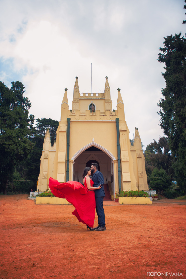 Panoramic Pre Wedding Shoot by FOTONIRVANA Wedding-photography | Weddings Photos & Ideas