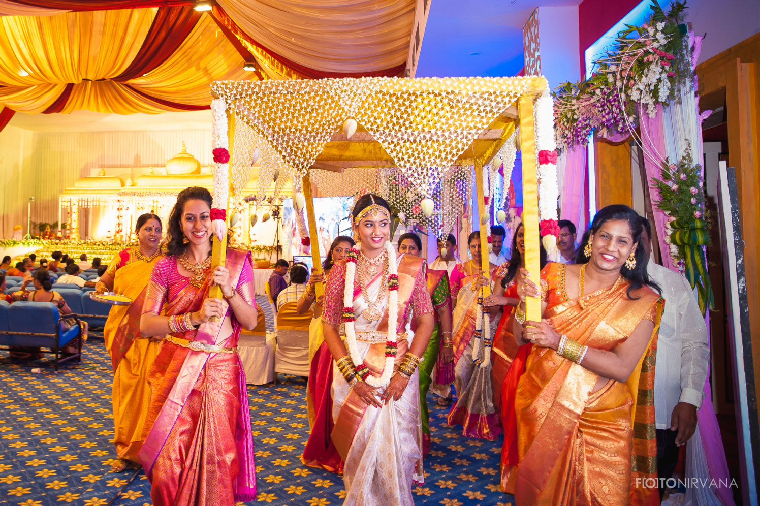 Enthralling Sight Of The Bride by FOTONIRVANA Wedding-photography | Weddings Photos & Ideas