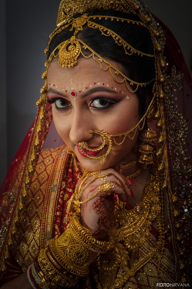 Gold Jewellery For Bengali Brides by FOTONIRVANA Wedding-photography Bridal-jewellery-and-accessories Bridal-makeup | Weddings Photos & Ideas