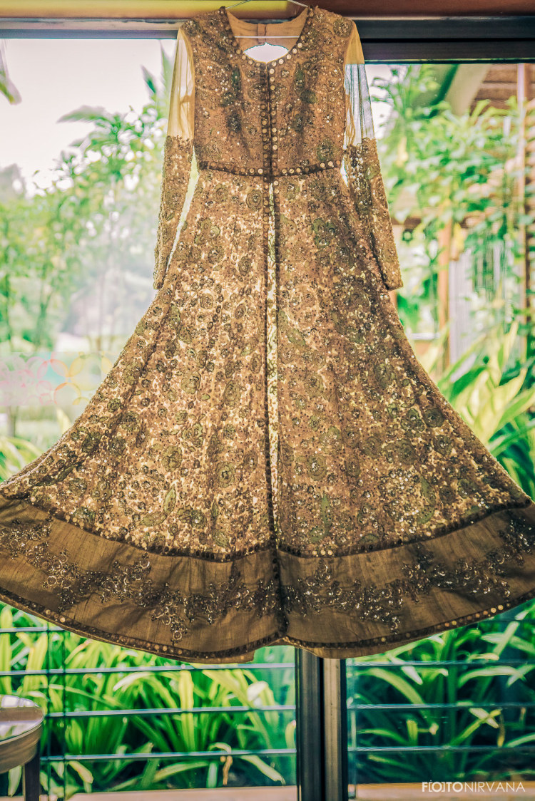 Golden Shaded Bridal Gown For Wedding Reception by FOTONIRVANA Wedding-photography Wedding-dresses | Weddings Photos & Ideas