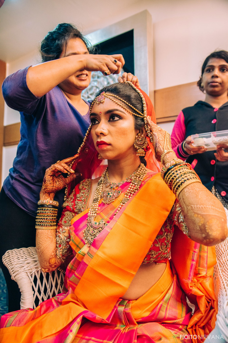 Edgy Bride Getting Ready For Her Special Day! by FOTONIRVANA Wedding-photography   Weddings Photos & Ideas