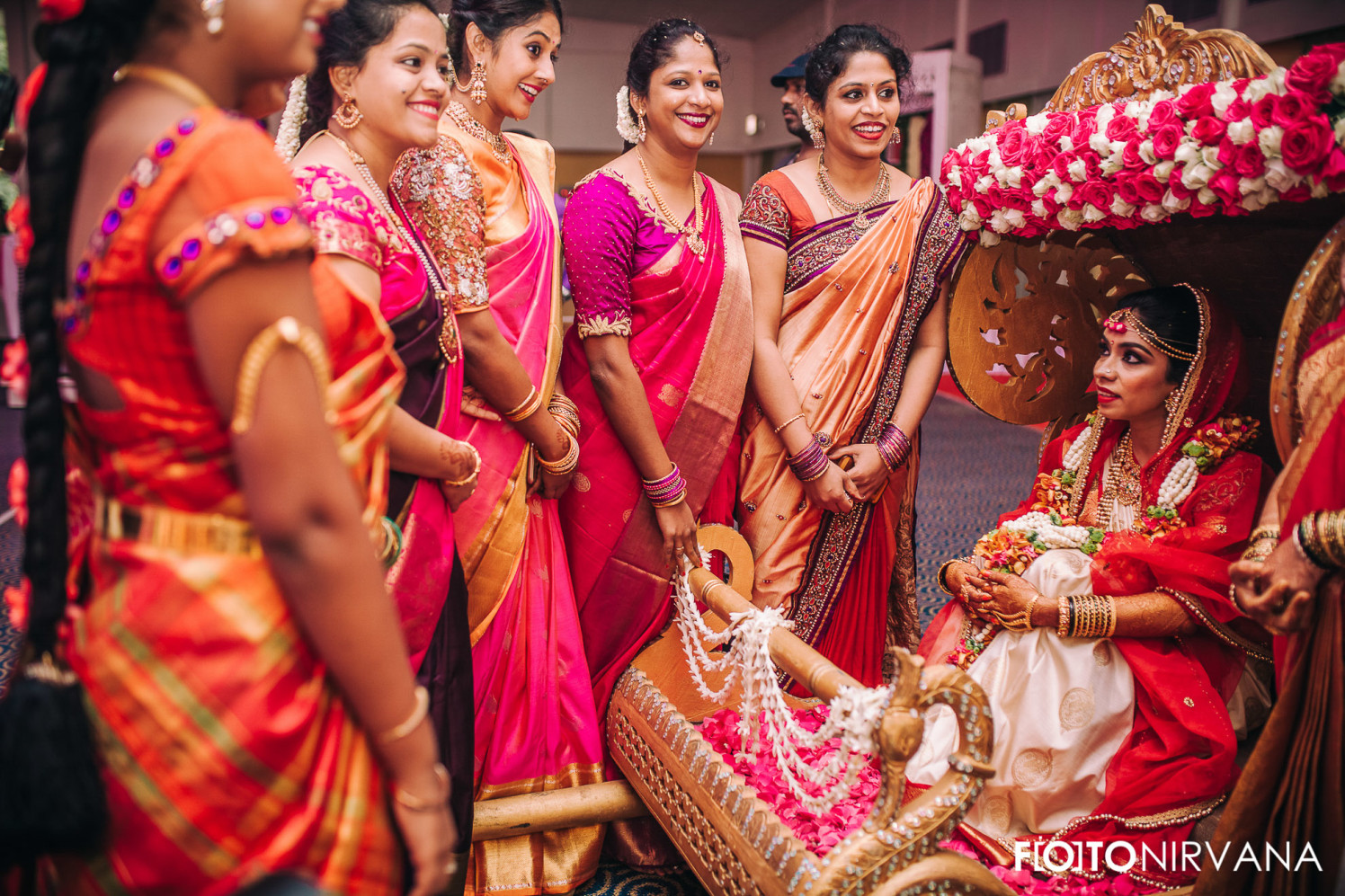 Bride With The Bridesmaids On Her Big Day! by FOTONIRVANA Wedding-photography | Weddings Photos & Ideas