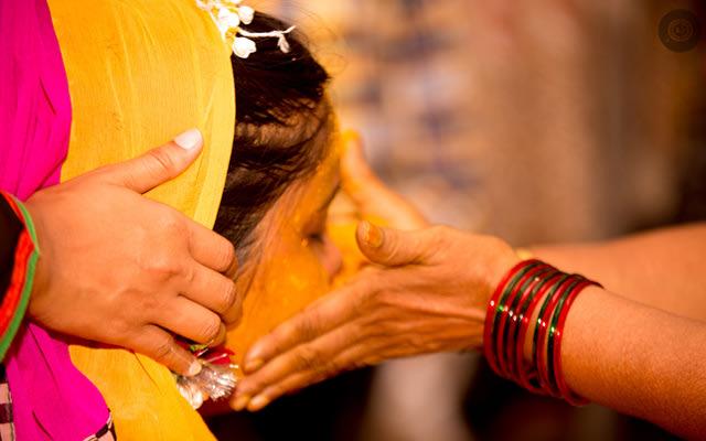 Bridal haldi shot by Two Cups Coffee and A Camera Wedding-photography | Weddings Photos & Ideas