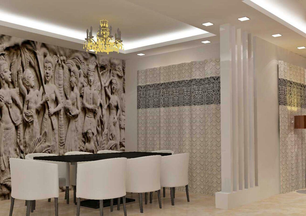 Contemporary living room decor ideas by Raunaq Designs Dining-room | Interior Design Photos & Ideas