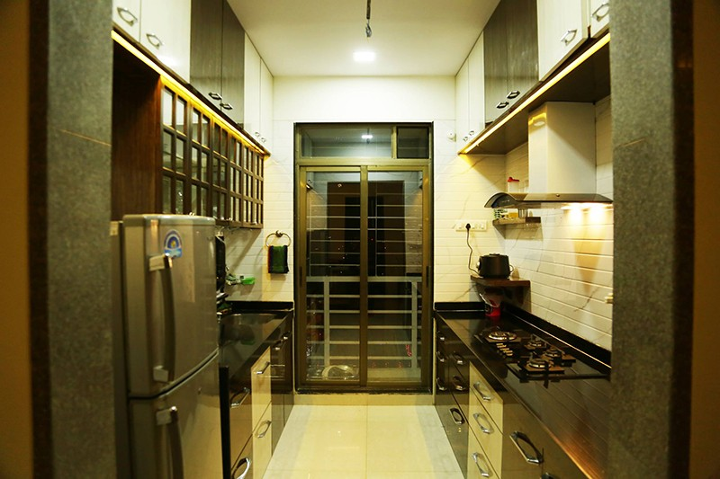 Elegant modular kitchen design by Amitus EPC Projects Pvt Ltd Modular-kitchen | Interior Design Photos & Ideas