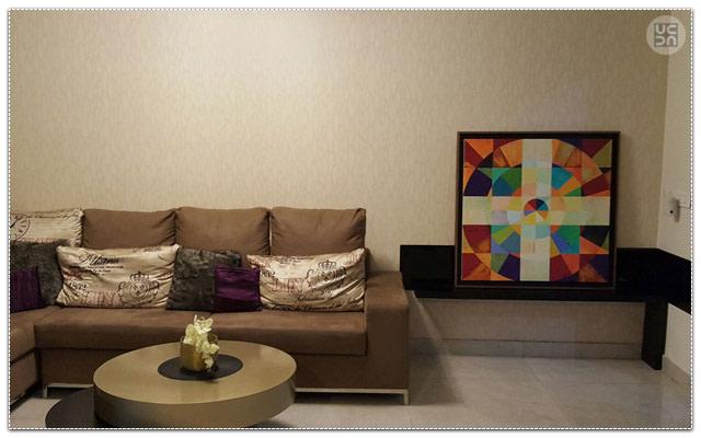 Modern living room by Amber Spacez Living-room Modern | Interior Design Photos & Ideas