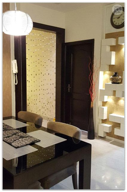 Modern dining room decor by Amber Spacez Dining-room Modern | Interior Design Photos & Ideas