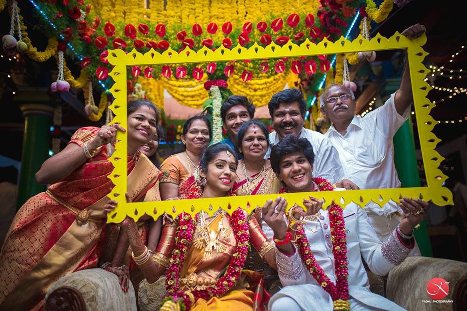 Family frame by Yadhu photography Wedding-photography | Weddings Photos & Ideas