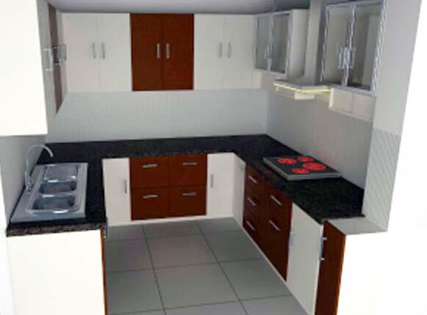 A modular kitchen! by Dezire modular kitchen & Interiors Modular-kitchen | Interior Design Photos & Ideas