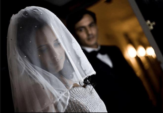 Christian bride silhouette by Wedding Clickz Wedding-photography | Weddings Photos & Ideas