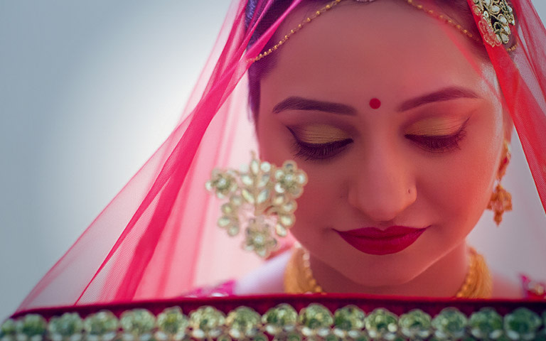 Under The Veil! by Apoorv Maurya Wedding-photography Bridal-makeup | Weddings Photos & Ideas