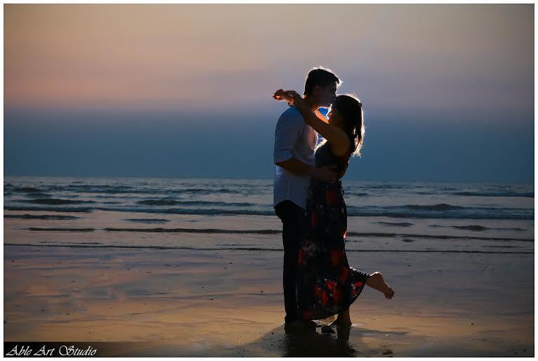 Romance near the beach by Able Art Digital Studio Wedding-photography | Weddings Photos & Ideas