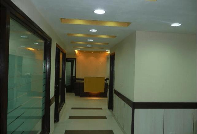 Modern office hallway by ARCHKEY Modern | Interior Design Photos & Ideas