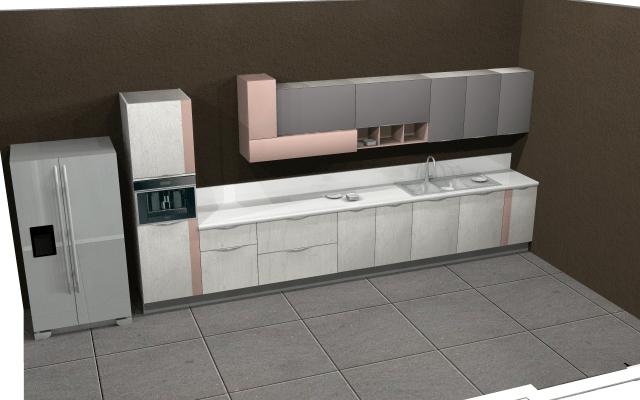 Creative idea for a modern kitchen by VS interiors Modular-kitchen | Interior Design Photos & Ideas