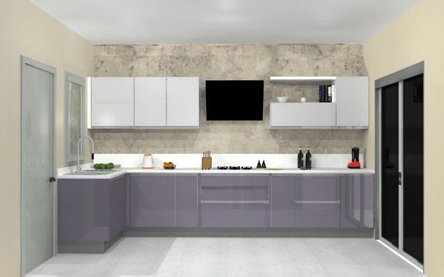Creative idea for beautiful modern kitchen by VS interiors Modular-kitchen | Interior Design Photos & Ideas