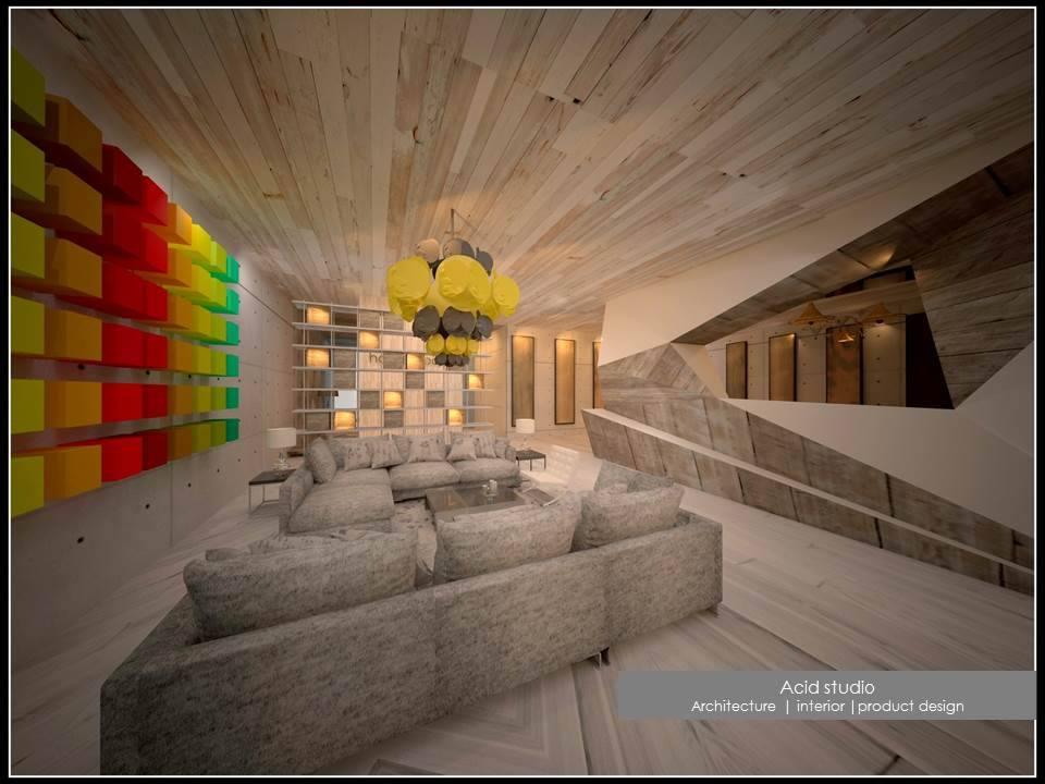 Shades of Autumn by Acid Studio Modern | Interior Design Photos & Ideas