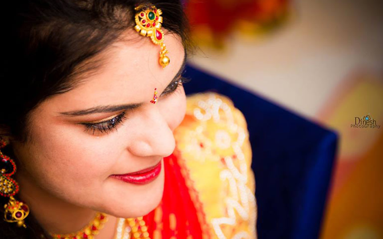 Bright red lips by Dinesh Boiri Photography  Wedding-photography | Weddings Photos & Ideas