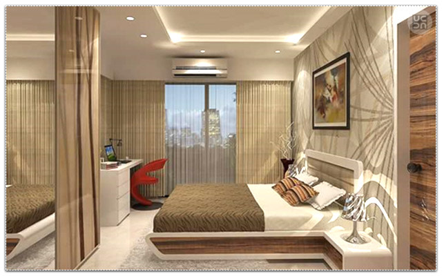 Premium Master Bedroom With Marble Flooring by Megha Jain Bedroom Modern | Interior Design Photos & Ideas