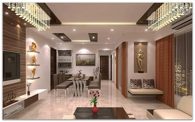Dining Room With Brown Shades by Megha Jain Living-room Modern | Interior Design Photos & Ideas
