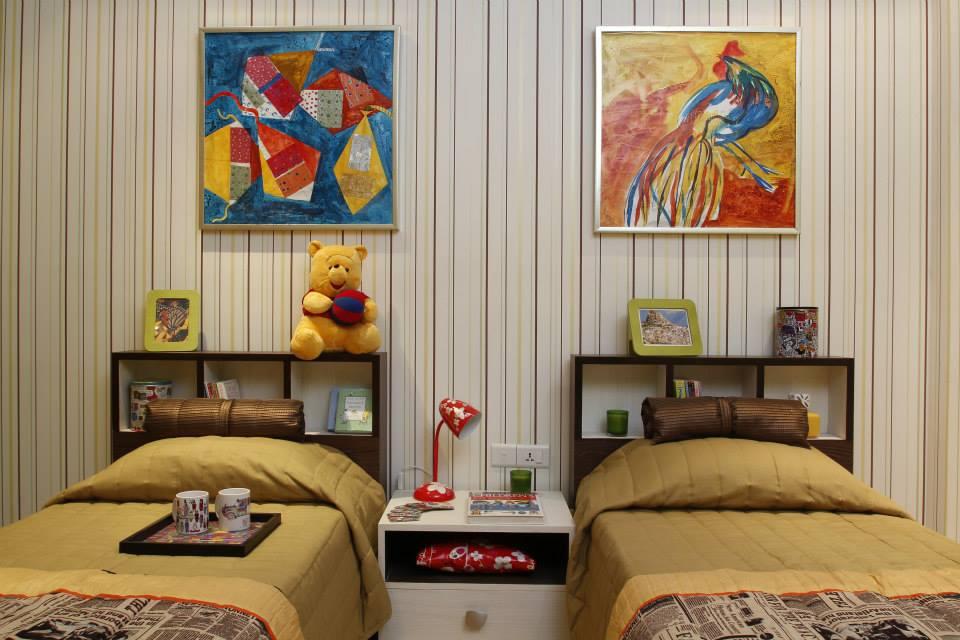 Fun kids bedroom decor by Bhoomi Ink Architects Bedroom Modern | Interior Design Photos & Ideas