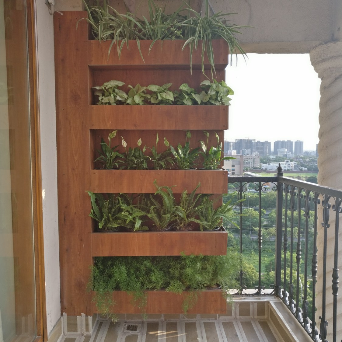 Modern balcony decor by Bhoomi Ink Architects Open-spaces Modern | Interior Design Photos & Ideas