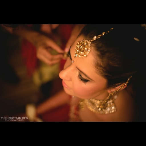 Getting Ready For A Big Day by Purushottam Deb Bridal-jewellery-and-accessories | Weddings Photos & Ideas