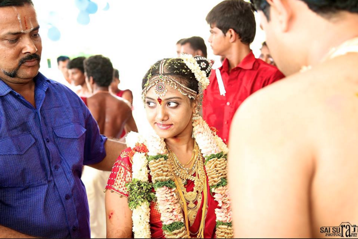 The look of the bride by Sai Suraj photography Wedding-photography   Weddings Photos & Ideas