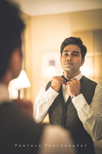 Getting Ready for the Big Moment by Prathik Photography Wedding-photography Groom-wear-and-accessories | Weddings Photos & Ideas