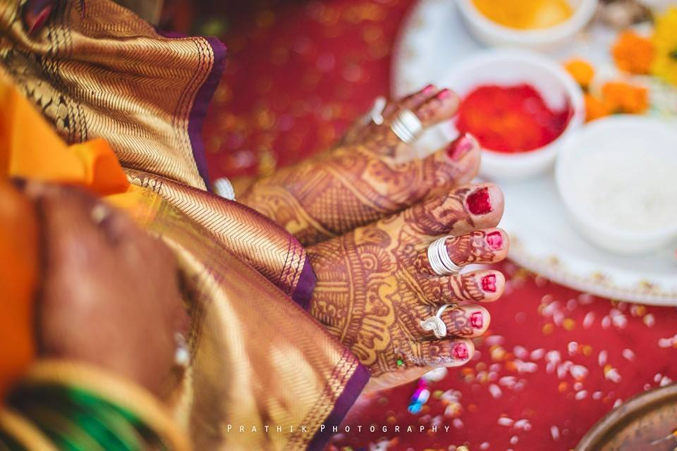 The Auspicious Feet by Prathik Photography Wedding-photography | Weddings Photos & Ideas