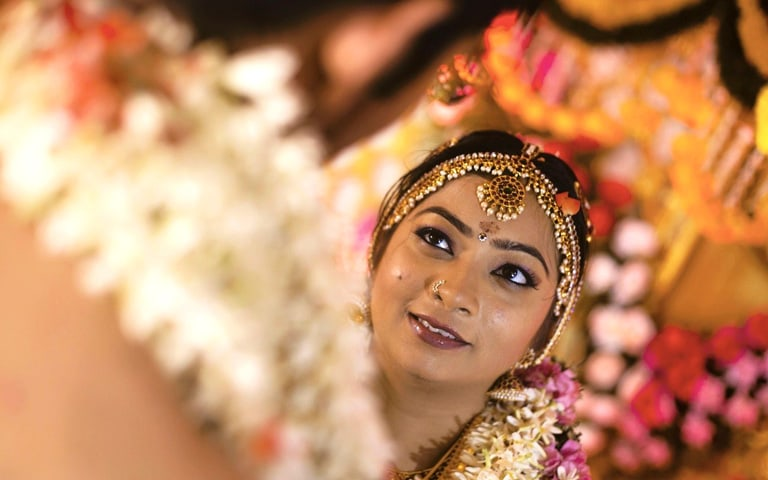 The bride with bold eyes by Kandhadai photography Wedding-photography | Weddings Photos & Ideas