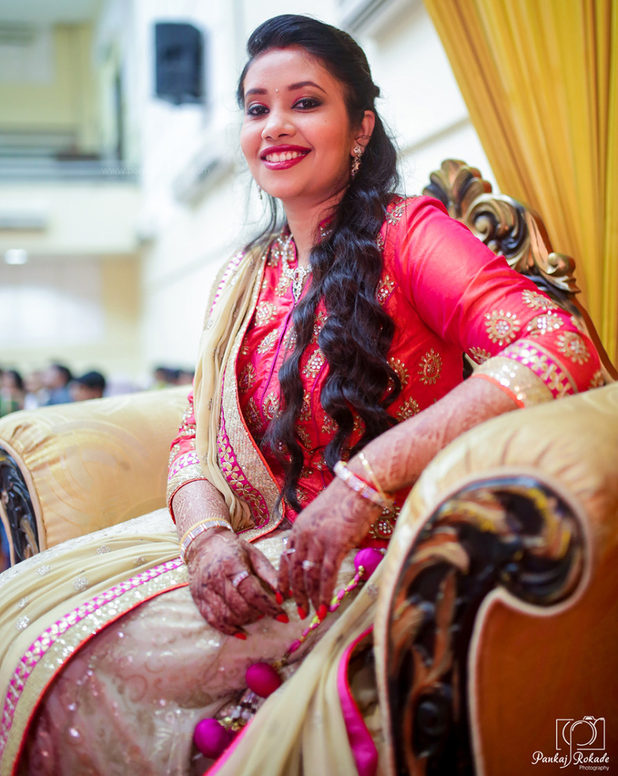 The bride with a lovely smile by Pankaj Rokade Photography  Wedding-photography | Weddings Photos & Ideas