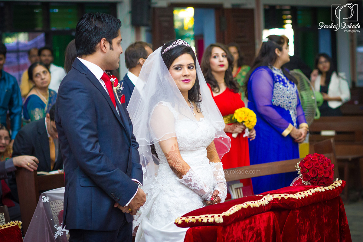 Beautiful photo of the bride and groom by Pankaj Rokade Photography  Wedding-photography | Weddings Photos & Ideas